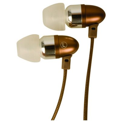 Raxconn Bullet In-ear headphone (Brown)