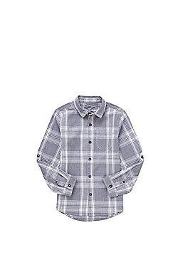 F&F Checked Shirt - Grey