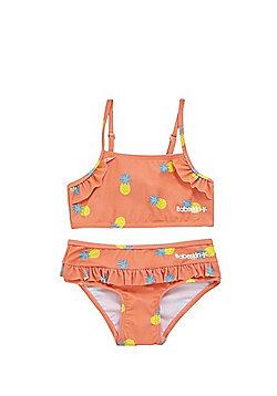 Babeskin Pineapple Print UPF50+ Bikini Set - Orange