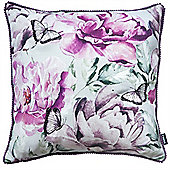 Rocco Butterfly Purple Cushion Cover - 43x43cm