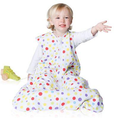 Snoozebag Baby Sleeping Bag 18-36 Months Spots 2.5 tog