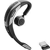 Jabra Motion UC+ MS Ear-hook Monaural NFC/Bluetooth Black Silver mobile headset