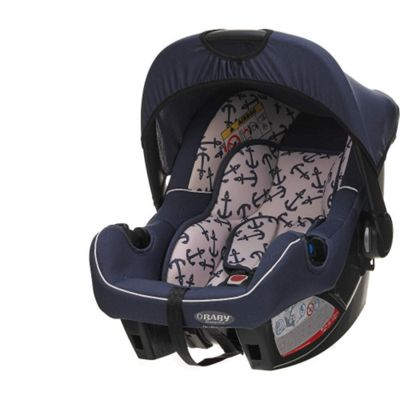 OBaby Chase Group 0+ Infant Car Seat (Little Sailor)