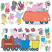 Peppa Pig Bedroom Stickers