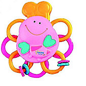The First Years Buzzing Bee Massaging Teether Pink