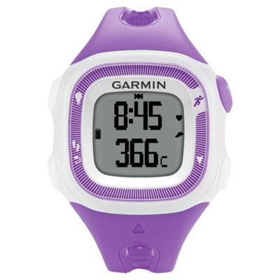 Garmin Forerunner 15 Running Watch Violet/White Small