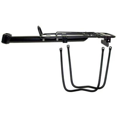 Seat Post Mounted Alloy Pannier Carrier