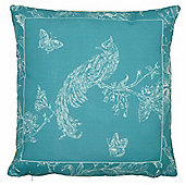 Dreams n Drapes Delesta Cushion Cover - Teal 43x43cm