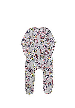 Hasbro My Little Pony All in One and Bib Set - Grey & Multi