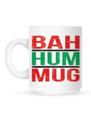 Bah Hum 10oz Ceramic Mug