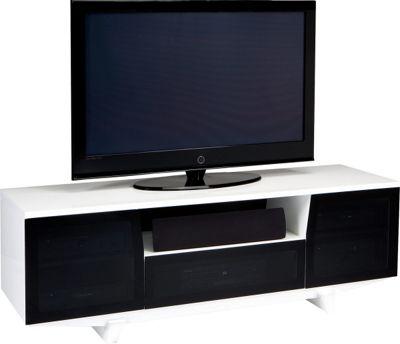 BDI MARINA 8729 Gloss White TV Cabinet