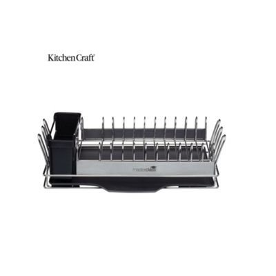 Masterclass Compact Stainless Steel Dish Drainer MCDISHCOMP