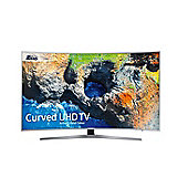 Samsung UE55MU6500 55 inch Curved 4K HDR Smart TV, Silver