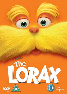 Dr Seuss The Lorax (2012) Dvd + Uv Copy