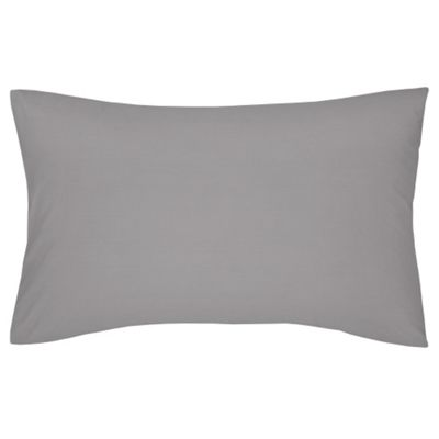 Catherine Lansfield Non Iron Percale Housewife Pillowcases - Heather