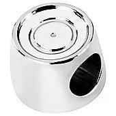 My Last Rolo Mini Silver Charm