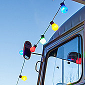 30 Multi Coloured LED Festoon Party Lights