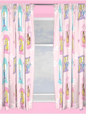 Disney Princess Boulevard 72'' Curtains