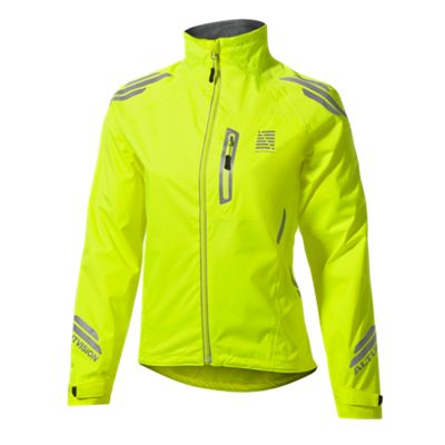 Altura Night Vision Womens Waterproof Jacket Hi Vis Yellow Size: 12