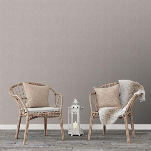 Superfresco Easy Grey Textile Wallpaper