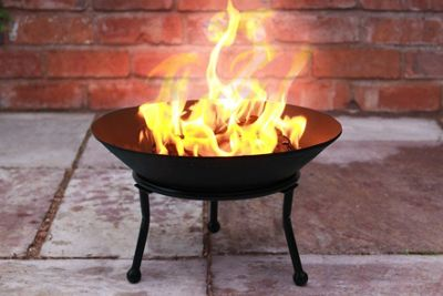 Small Cast Iron Fire Bowl