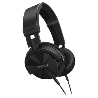 Philips SHL3000 On Ear Headphones Black