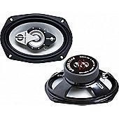 "Ground Zero Iridium 6904X 6x9"" Coaxial Car Speakers"