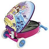 Disney Princess Kids Scooting Suitcase 3 in1 Scooter