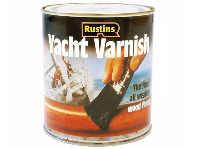 Rustins Yacht Varnish Gloss 500ml