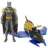 Batman 30cm Figure & Vehicle - Batjet