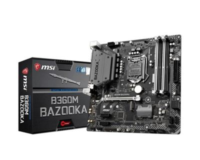 MSI B360M BAZOOKA Motherboard