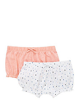 F&F 2 Pack of Bloomer Shorts - Multi