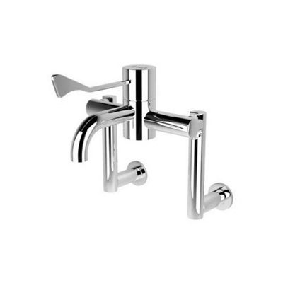 HTM64 Safe Touch Extended Wall Mounted Thermostatic Sequential Tap