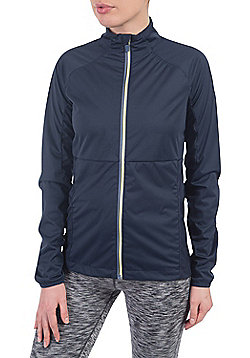 Zakti Breezy Light Softshell Jacket - Blue & Black