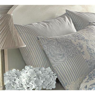 Dreams n Drapes Malton Blue Housewife Pillowcases - Pair