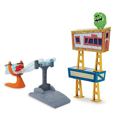 Angry Birds Speedsters Sling and Smash Track Playset