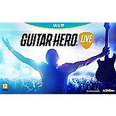 Guitar Hero Live Wii U (Includes Guitar)