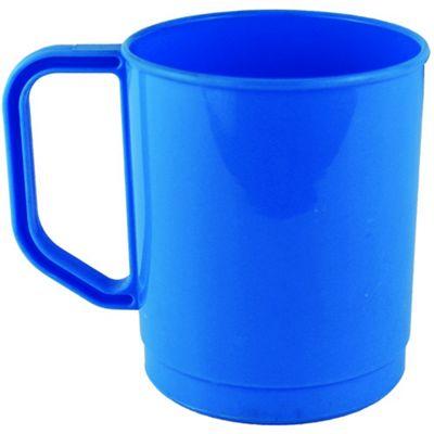 Yellowstone 275ml Plastic Campers Travel Mug Blue