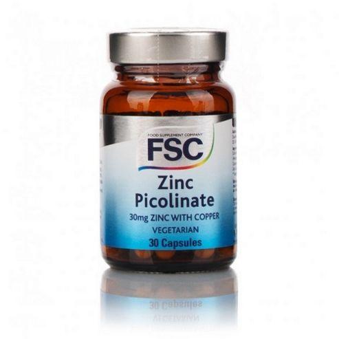 Zinc Picolinate 30Mg W/ Copper