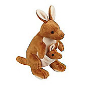Ravensden 28cm Kangaroo And Joey Soft Toy