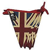 Union Jack Double Sided Vintage Style Union Jack Bunting