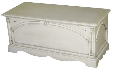 Thorndon Beverley Blanket Box in Antique Cream
