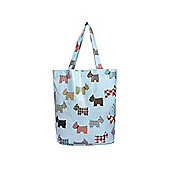 Scottish Terrier Dog Print Waterproof Shopping Bag