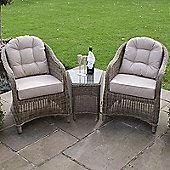 Maze Rattan - Winchester 3pc Rattan Lounge Set