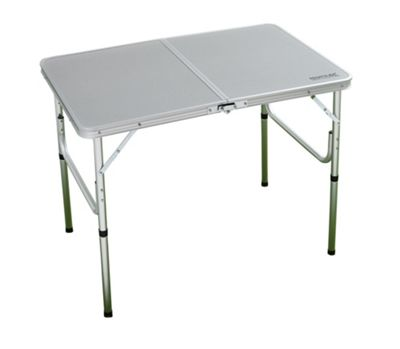 Regatta Cena Camping bi-Folding Table with Steel Frame
