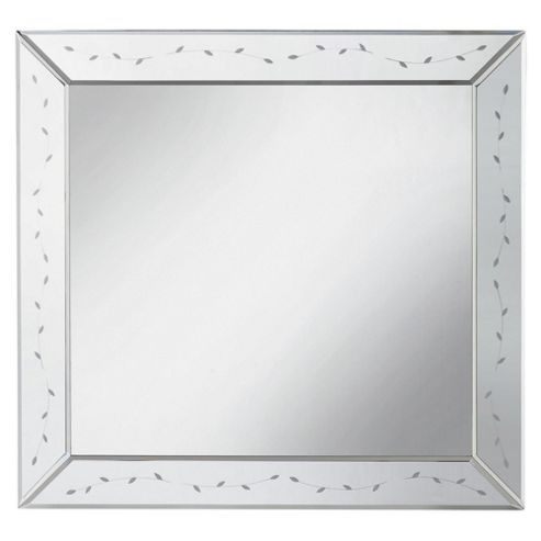 Scolloped Venetian Mirror