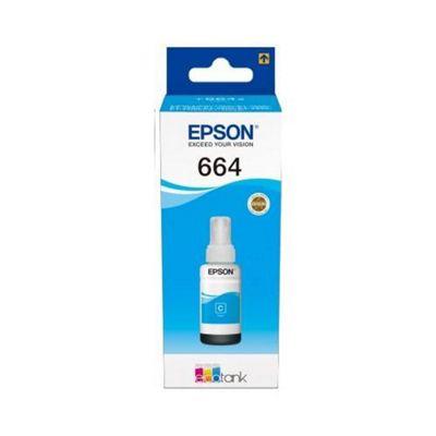 Epson 664 Ecotank Cyan ink bottle (70ml)