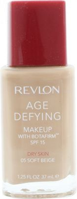 Revlon Age Defying Foundation 37ml Dry Skin - 05 Soft Beige