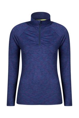 Mountain Warehouse Isocool Dynamic Womens Half Zip Top ( Size: 10 )