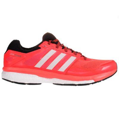 adidas Supernova Glide 7 Boost Mens Running Trainer Shoe Red, UK 9